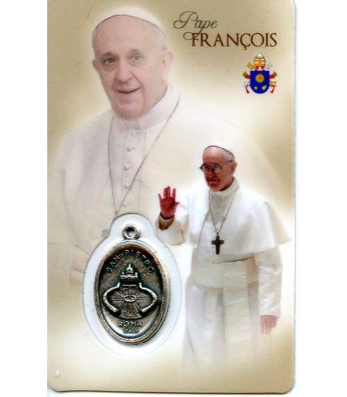 carte de pri�re Pape Fran�ois