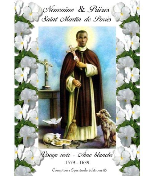 Neuvaine saint martin de porr�s (1579 - 1639)