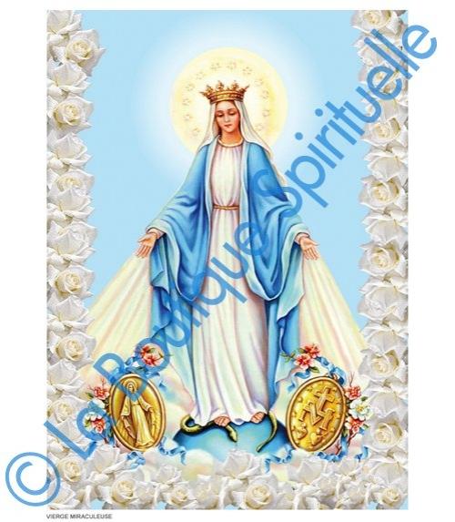 Image Sainte Vierge Miraculeuse