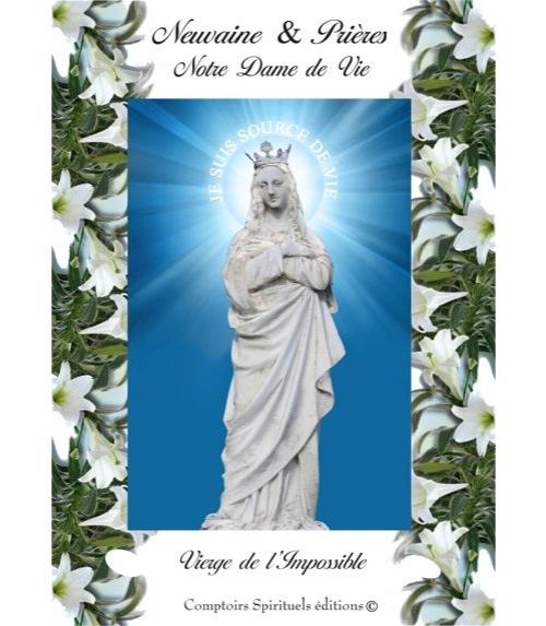 Neuvaine Notre Dame de Vie