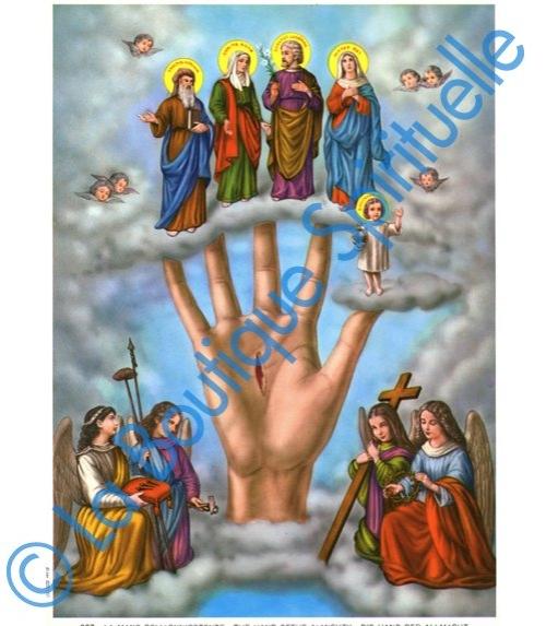 Sainte Main Puissante de Dieu