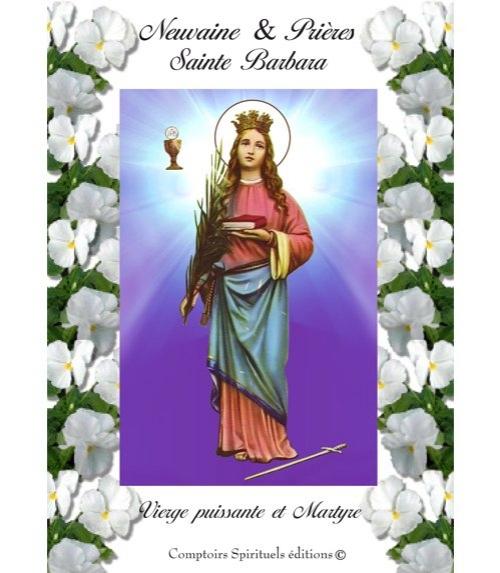 Neuvaine Sainte Barbara