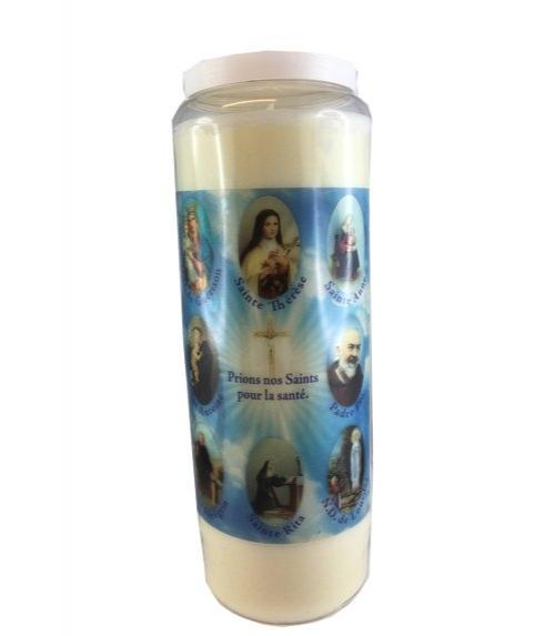 bougie des Saints pour la Santé