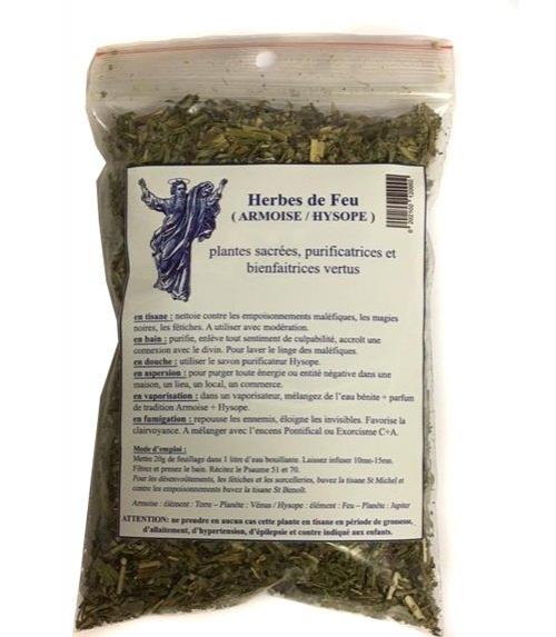 Feuillage Herbes de Feu - Armoise / Hysope