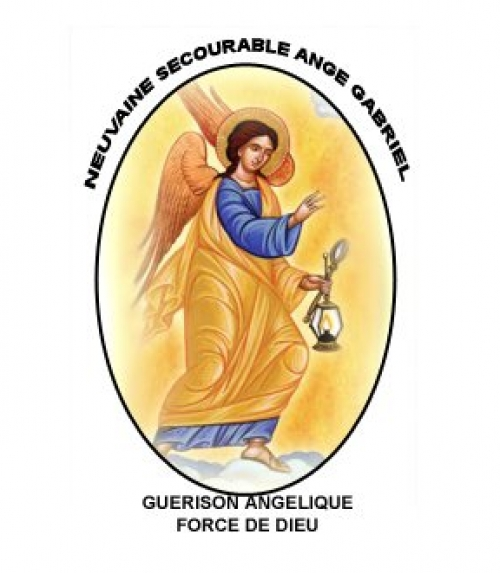 Neuvaine Secourable Ange Gabriel - Ange 2015