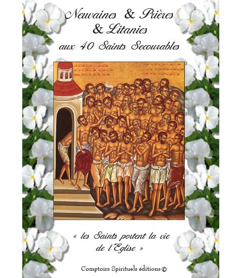 neuvaine aux 40 Saints Secourables