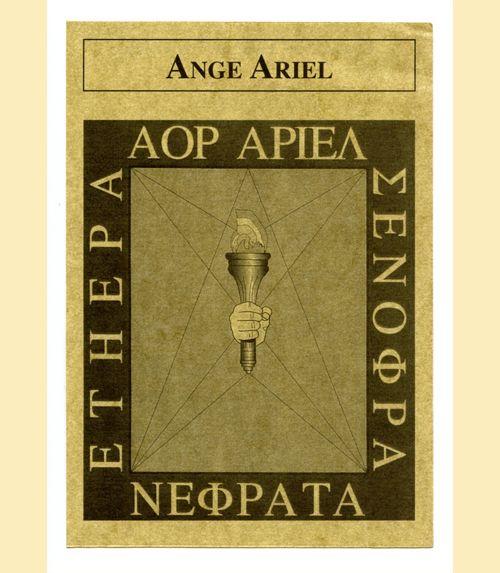 Pentacle ange ariel