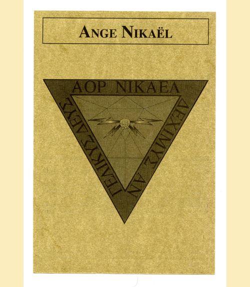Pentacle ange nikael