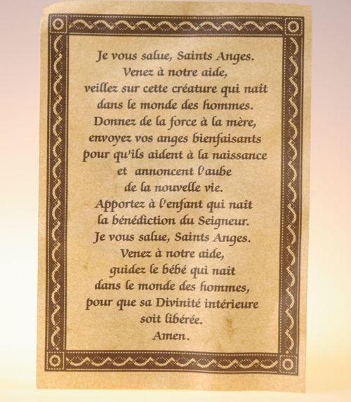 Parchemin saints anges