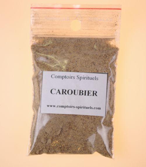 Poudre caroubier
