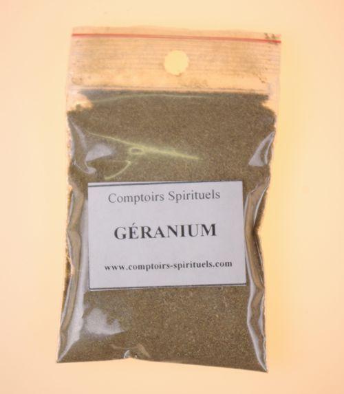 Poudre g�ranium