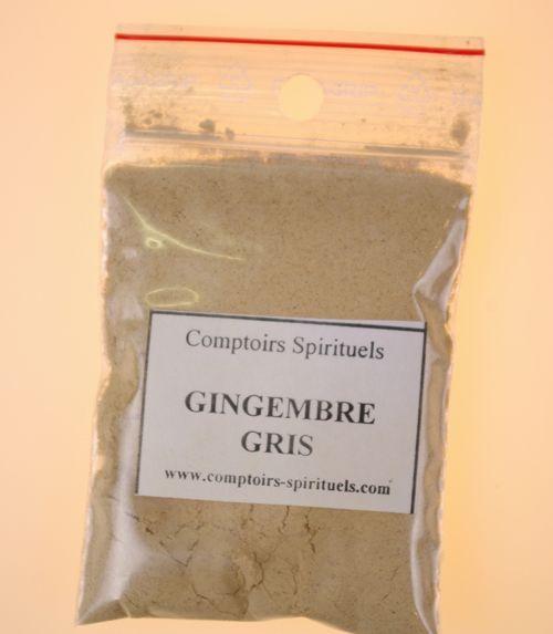Poudre gingembre gris