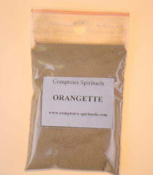 Poudre orangette